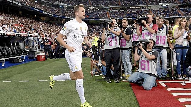 El ruso, durante la presentación de su equipo en el Santiago Bernabéu
