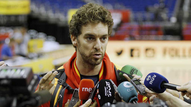 Pau Gasol: We don't have as much talent as in other years