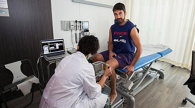 Navarro, sometido a examen médico.