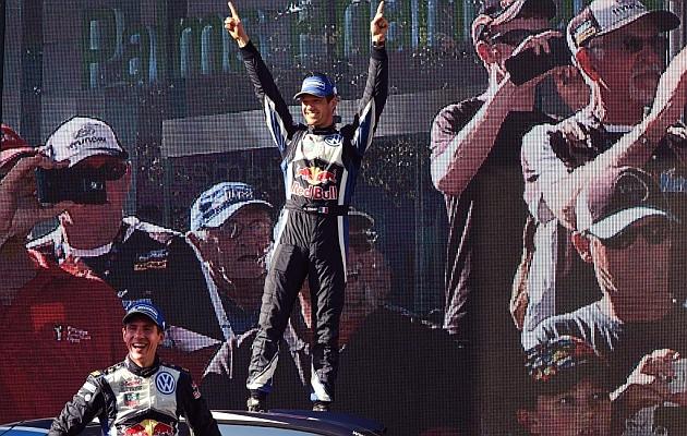 Ogier ya es tricampeón mundial de rallies