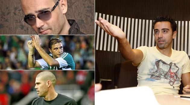 """Xavi: """"Si Valdés está inspirado, te ríes mucho"""""""