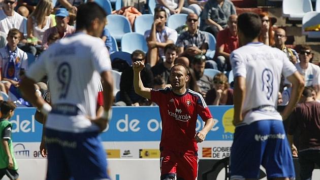 Nino celebra el gol. Foto: TONI GALAN (MARCA)