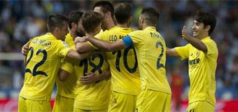 Málaga vs Villarreal en directo