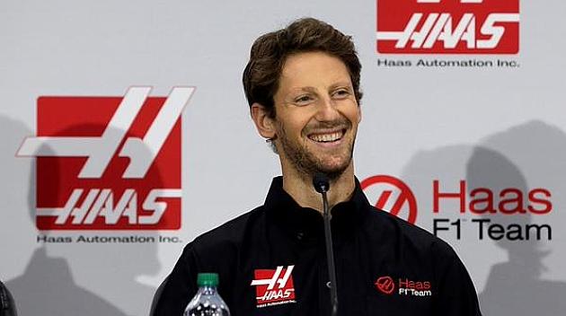 Grosjean correrá en Haas a partir del próximo año