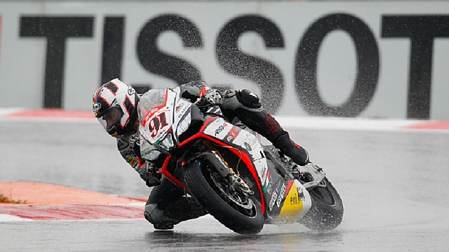 Leon Haslam, Aprilia Racing Team - Red Devils, Magny-Cours SP2