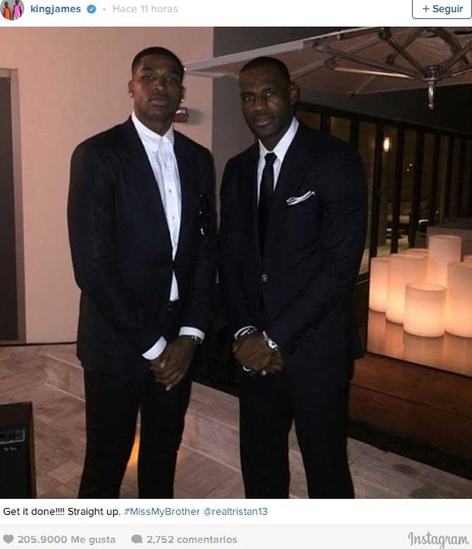 Tajante mensaje de LeBron a sus Cavaliers: añoro a mi hermano, fichad ya a Tristan Thompson