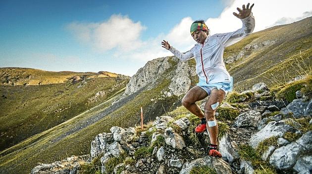 Mira Rai, corriendo por las montañas.