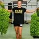 Mireia Belmonte, con el Plátano de Canarias