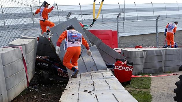 Carlos Sainz sufre un grave accidente en Sochi