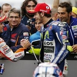 Rossi: No sucederá que Lorenzo gane todo y yo acabe segundo