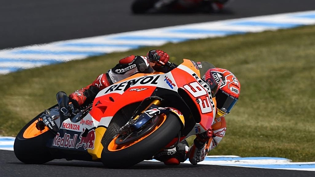 Márquez: Iré con más cuidado en un duelo con Rossi y Lorenzo