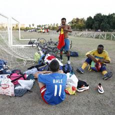 El alma de África, un equipo de Jerez formado sólo por inmigrantes
