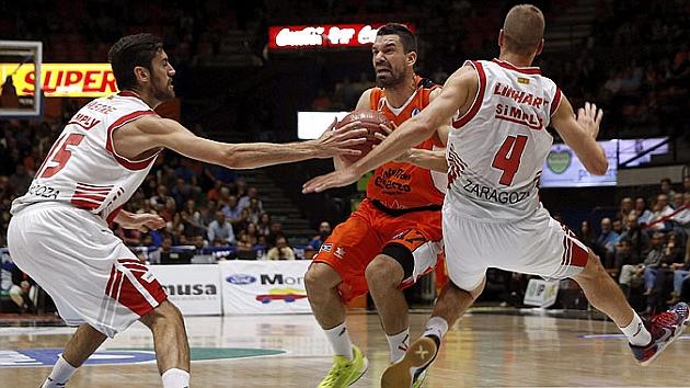 El Valencia Basket cambia de guión y arrolla al CAI