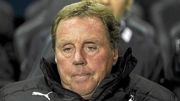Harry Redknapp, en su etapa en el Tottenham.