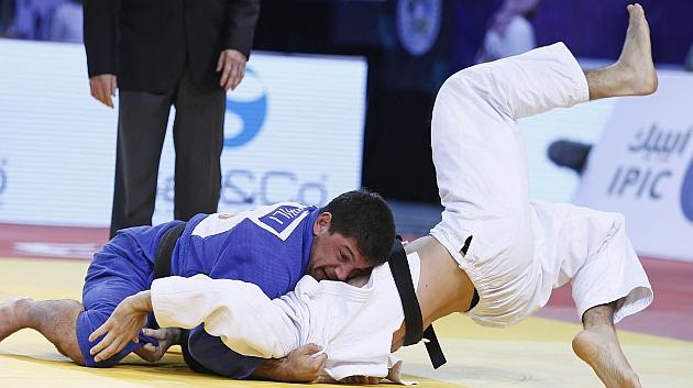 Nikoloz Sherazadishvili, subcampeón del mundo júnior