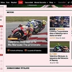 La prensa italiana, dura con Rossi