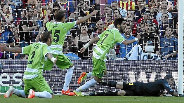 Perforando la red del Barcelona