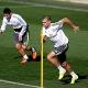 James, Pepe, Benzema y Arbeloa, sobre el c�sped