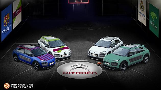 Citroën vuelve a apostar por la Euroleague en España
