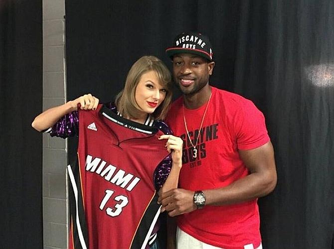 La musa de la NBA planta a Kobe por Wade