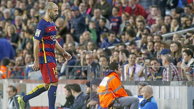 Mascherano cleared for 'Clásico'