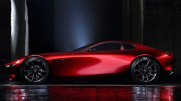 Mazda RX-Vision: un deportivo con motor rotativo