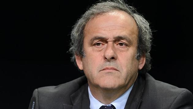 Platini, en un congreso de la FIFA en Zúrich. Foto: Fabrice Coffrini (AFP).