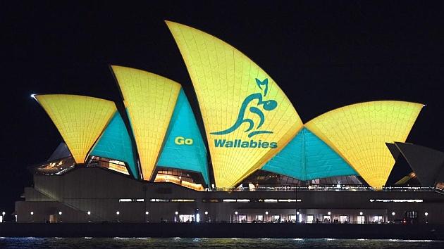 Sidney apoya a los 'Wallabies'