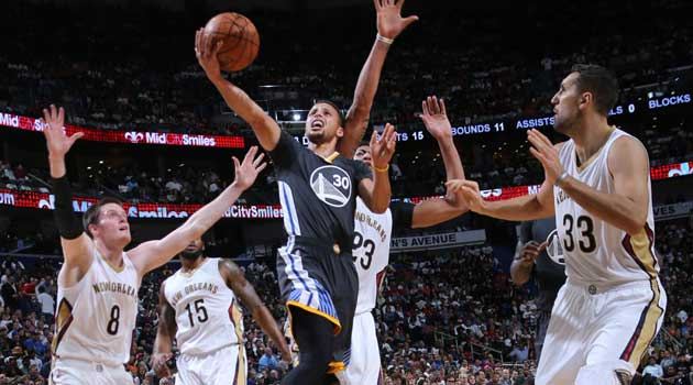 Vaya animalada: 53 puntos de Stephen MVP Curry