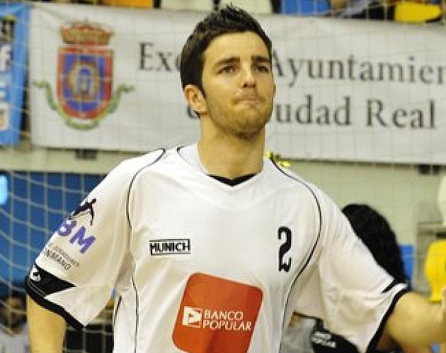 Álvaro Cabanas durante un 'Partido de las Estrellas' con el combinado AJBM