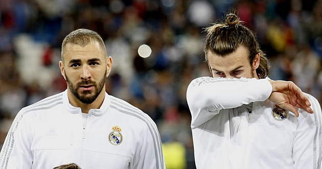 Image result for benzema and bale