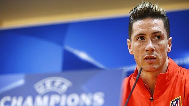 Fernando Torres, en la rueda de prensa previa al duelo ante el Astana