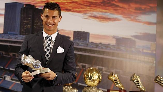 Cristiano Ronaldo, el día de su homenaje en el Bernabéu