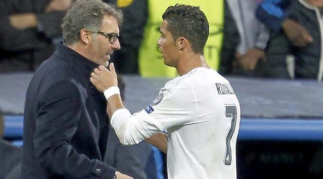 CR7 to Blanc: I'd love to work with you