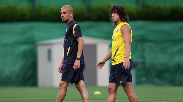 Puyol me pedía cada día que siguiera en el Barça