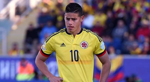 James Rodríguez, en la lista de 26 de Colombia