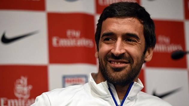 Raúl, en rueda de prensa.