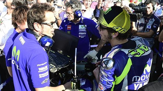 Rossi: Márquez ha mentido todo el fin de semana y le ha tocado los cojones a todo el mundo