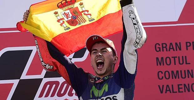 Lorenzo, tricampeón del mundo de MotoGP