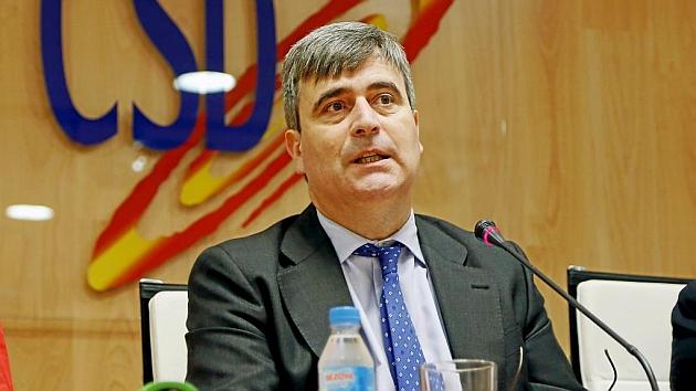 Miguel Cardenal, presidente del CSD. Foto: Ángel Rivero (MARCA).