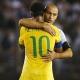 Mascherano sufre una contractura en el partido frente a Brasil
