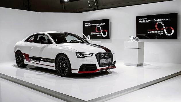 Más proporción de electricidad para todos los modelos de Audi