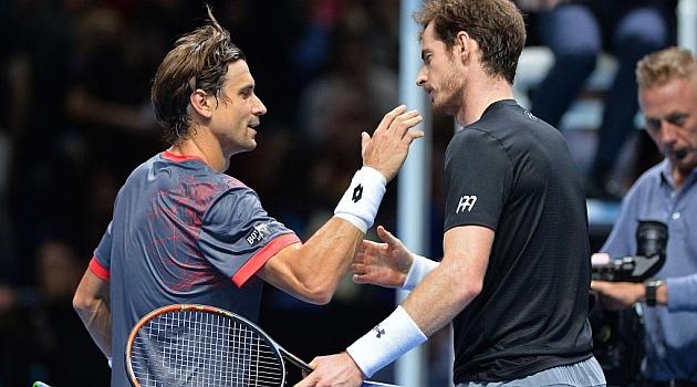 Ferrer y Murray se abrazan en la red