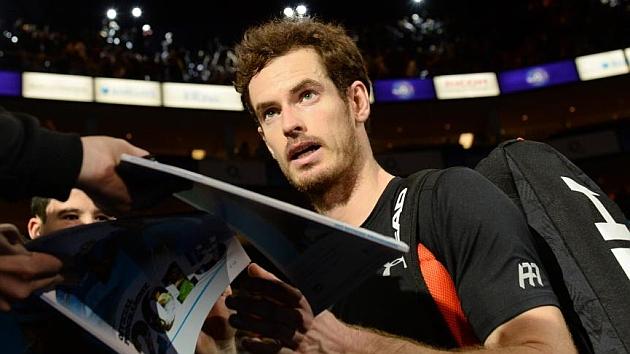 Murray, tras derrotar a Ferrer en la Copa de Maestros.