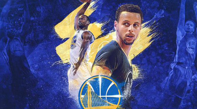Curry anota 37 puntos para aupar a los Warriors al tercer escalón de la historia de la NBA