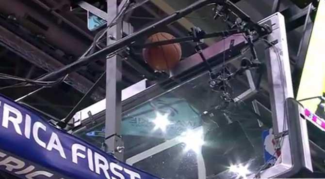 La canasta más surrealista de la NBA: ¡Con una escoba!