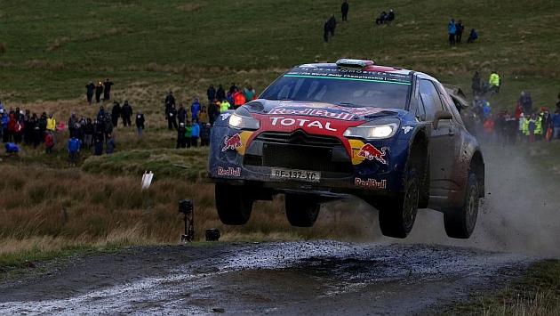 Stephane Lefebvre (Citroën WRC), en el pasado Rally de Gales / AFP