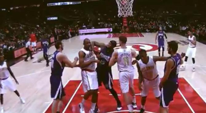 Codazo, chivatazo y suspensión a la NBA