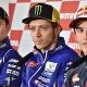 Rossi deja de seguir a Márquez y a Lorenzo