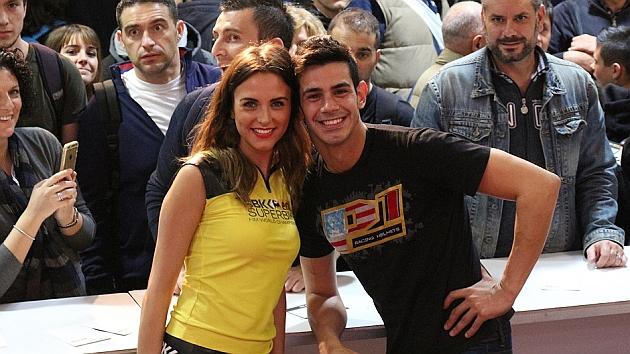 Jordi Torres anunció en el Salón de Milán su fichaje por Althea Racing